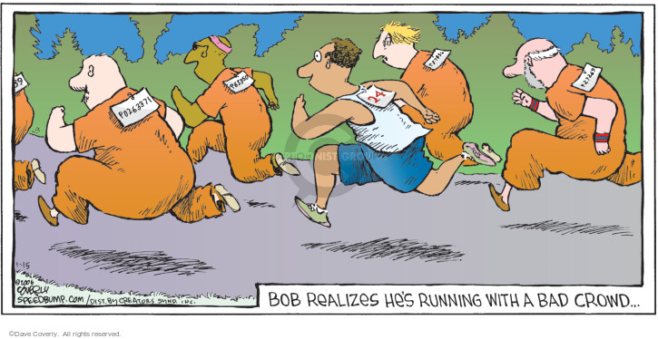 Comic Strip Dave Coverly  Speed Bump 2006-01-15 runner