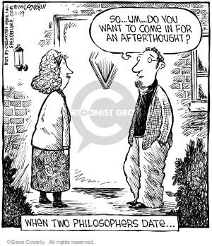 Comic Strip Dave Coverly  Speed Bump 2006-01-19 flirt