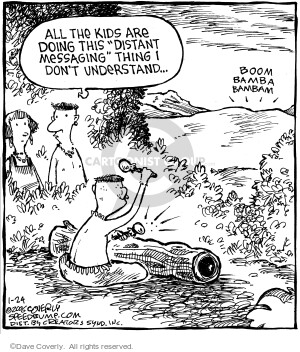 Comic Strip Dave Coverly  Speed Bump 2006-01-24 message