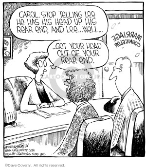 Comic Strip Dave Coverly  Speed Bump 2006-02-17 counselor's office