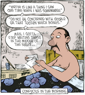 Comic Strip Dave Coverly  Speed Bump 2006-03-22 philosophical