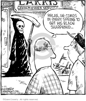 Comic Strip Dave Coverly  Speed Bump 2006-03-25 Larry