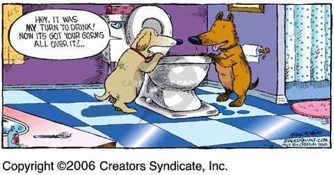 Comic Strip Dave Coverly  Speed Bump 2006-04-16 clean