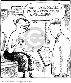 Comic Strip Dave Coverly  Speed Bump 2006-04-18 devilish