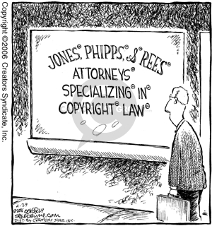 Cartoonist Dave Coverly  Speed Bump 2006-04-29 laws