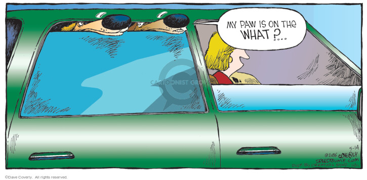 Comic Strip Dave Coverly  Speed Bump 2006-05-14 electrical