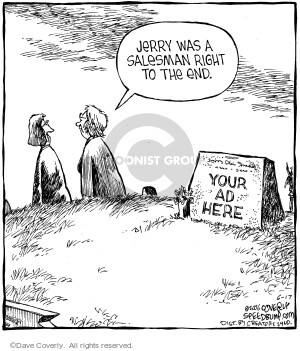 Comic Strip Dave Coverly  Speed Bump 2006-06-17 gravestone