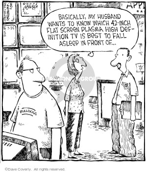 Comic Strip Dave Coverly  Speed Bump 2006-07-25 definition