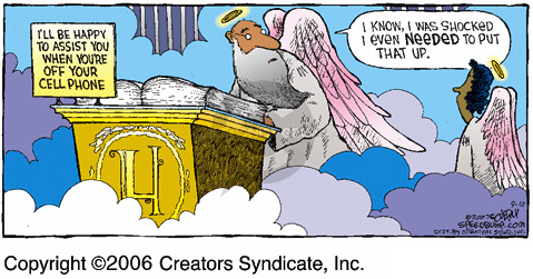 Comic Strip Dave Coverly  Speed Bump 2006-09-10 sign up