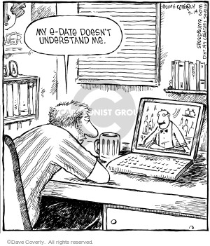 Cartoonist Dave Coverly  Speed Bump 2006-09-14 laptop