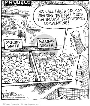 Comic Strip Dave Coverly  Speed Bump 2006-09-19 food quality