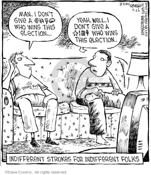 Comic Strip Dave Coverly  Speed Bump 2006-09-23 election