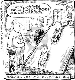 Comic Strip Dave Coverly  Speed Bump 2006-10-06 teacher