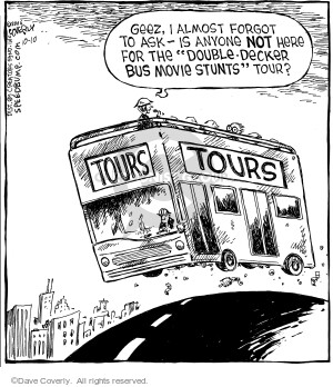 Comic Strip Dave Coverly  Speed Bump 2006-10-10 frighten