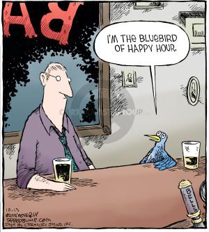 Comic Strip Dave Coverly  Speed Bump 2006-10-13 bluebird
