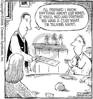 Comic Strip Dave Coverly  Speed Bump 2006-10-17 negotiate