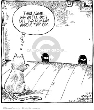 Comic Strip Dave Coverly  Speed Bump 2006-10-25 risk