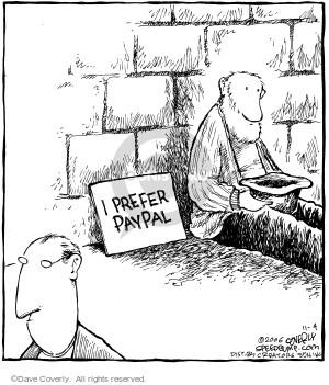 I prefer PayPal.