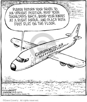 Comic Strip Dave Coverly  Speed Bump 2006-11-06 motion