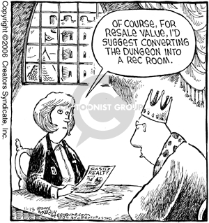 Comic Strip Dave Coverly  Speed Bump 2006-11-13 remodel