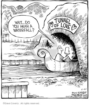 Comic Strip Dave Coverly  Speed Bump 2006-11-21 tunnel
