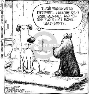Cartoonist Dave Coverly  Speed Bump 2006-12-02 optimism