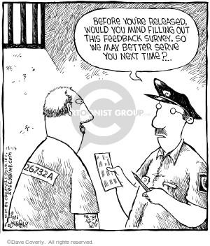 Cartoonist Dave Coverly  Speed Bump 2006-12-13 prisoner
