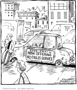 Comic Strip Dave Coverly  Speed Bump 2006-12-21 taxi