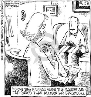 Comic Strip Dave Coverly  Speed Bump 2007-01-17 Allison
