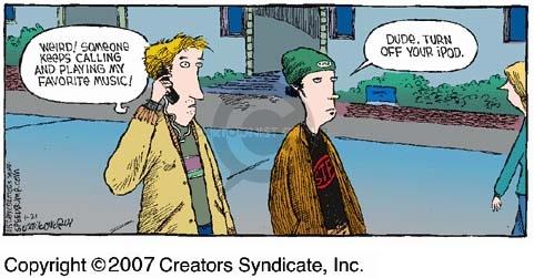Comic Strip Dave Coverly  Speed Bump 2007-01-21 weird