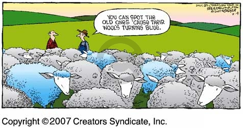 Comic Strip Dave Coverly  Speed Bump 2007-02-04 pasture