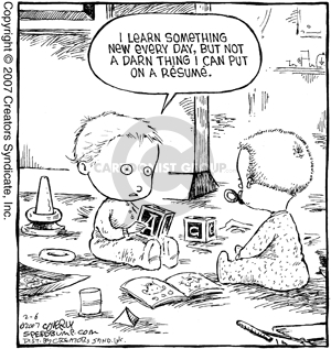 Comic Strip Dave Coverly  Speed Bump 2007-02-06 early