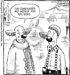 Comic Strip Dave Coverly  Speed Bump 2007-02-09 work