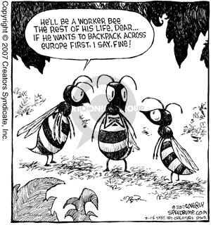 Comic Strip Dave Coverly  Speed Bump 2007-02-15 Europe travel