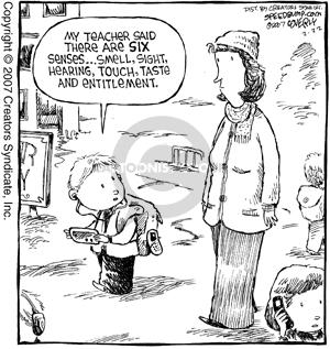 Comic Strip Dave Coverly  Speed Bump 2007-02-22 teacher
