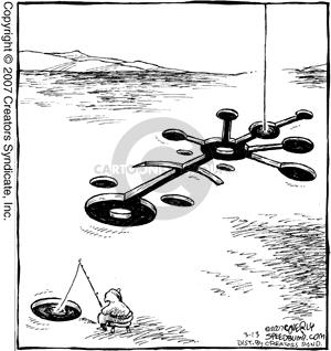Comic Strip Dave Coverly  Speed Bump 2007-03-13 supernatural