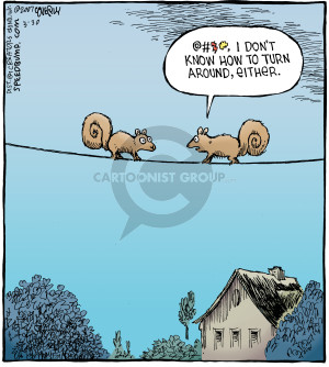 Comic Strip Dave Coverly  Speed Bump 2007-03-30 pass
