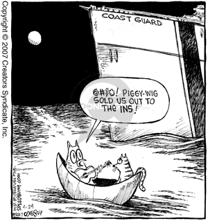 Comic Strip Dave Coverly  Speed Bump 2007-04-24 rowboat