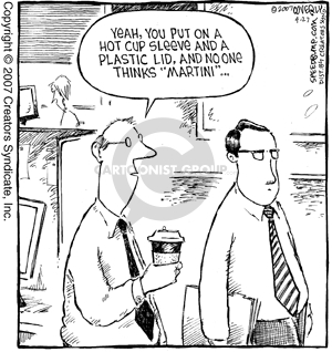 Comic Strip Dave Coverly  Speed Bump 2007-04-27 cocktail