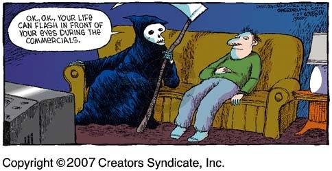 Comic Strip Dave Coverly  Speed Bump 2007-04-29 negotiate