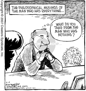 Comic Strip Dave Coverly  Speed Bump 2007-05-10 philosophical