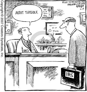 Comic Strip Dave Coverly  Speed Bump 2007-05-14 tax