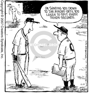 Comic Strip Dave Coverly  Speed Bump 2007-05-15 baseball