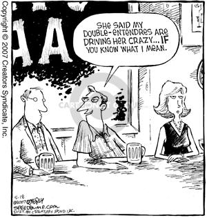 Comic Strip Dave Coverly  Speed Bump 2007-05-18 flirt