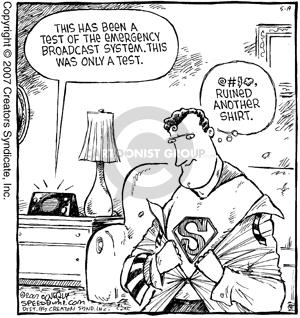 Comic Strip Dave Coverly  Speed Bump 2007-05-19 Superman