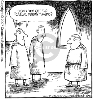 Comic Strip Dave Coverly  Speed Bump 2007-05-25 vestment