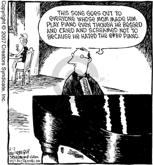 Cartoonist Dave Coverly  Speed Bump 2007-06-02 made