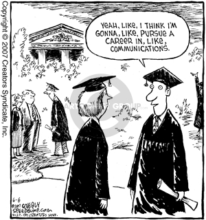 Comic Strip Dave Coverly  Speed Bump 2007-06-06 graduation