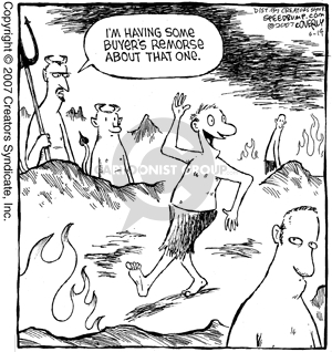 Comic Strip Dave Coverly  Speed Bump 2007-06-14 buyer