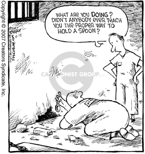 Cartoonist Dave Coverly  Speed Bump 2007-06-15 proper